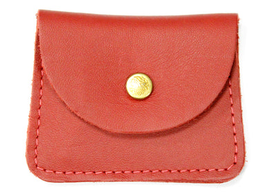 Double Coin Case in Red
