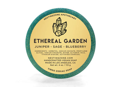 Ethereal Garden - Virgo Zodiac Soap