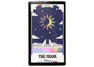 The Moon Tarot Card Holographic Sticker