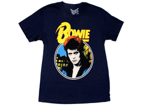 Bowie Ziggy Stardust Tee In Midnight
