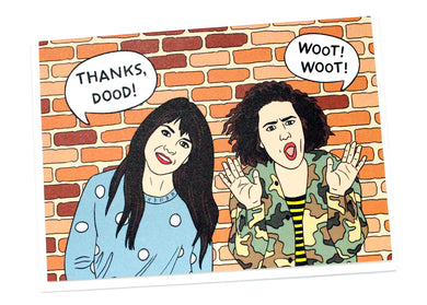 Broad City Thanks Dood Card