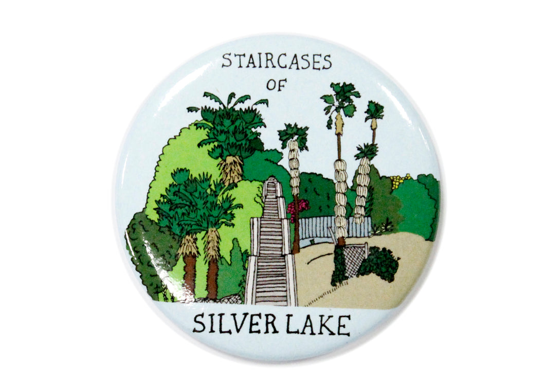 Staircases of Silver Lake Magnet
