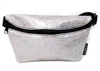 Ultra Slim Fanny Pack In Glam Glitter