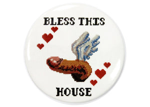 Bless This House Flying Penis Magnet