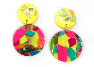 Handmade Clay Earrings #1