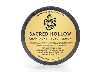 Sacred Hollow - Capricon Zodiac Soap