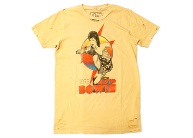 Bowie '73 Distressed Tee