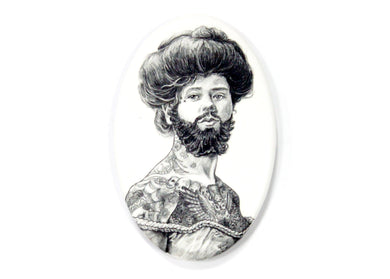 Bearded Lady Magnet
