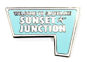 Sunset Junction Enamel Pin