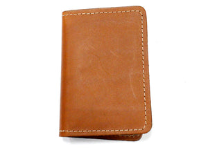 Leather ID Case in Tan