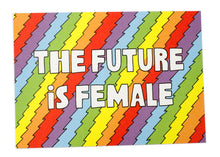 The Future Is Female Postcard
