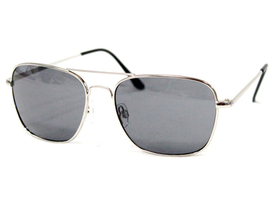 3rd Army Sunglasses in Matte Silver