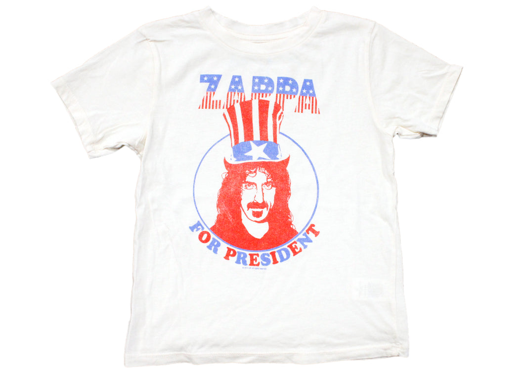Zappa For President Kids Tee