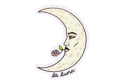 La Luna Sticker