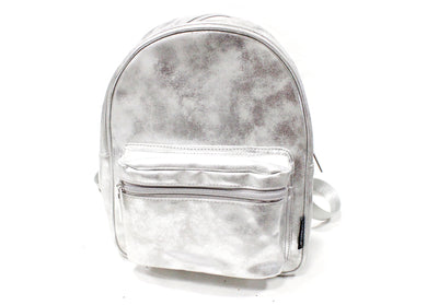 Mini Backpack in Duster Silver
