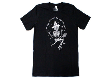 Skeleton Witch Tee