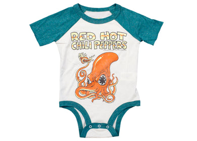 Red Hot Chili Peppers Octopus Baby Onesie
