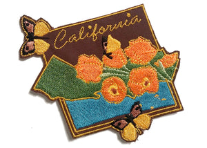 California Iron-On Patch