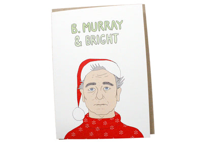 B. Murray Holiday Card