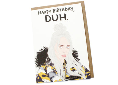 Birthday Duh Card