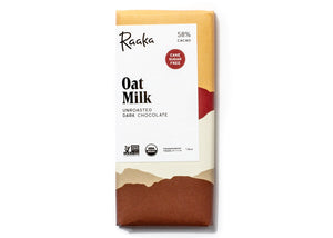 Oat Milk 58% Dark Chocolate Bar