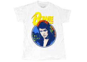 Bowie Ziggy Stardust Tee In Cream