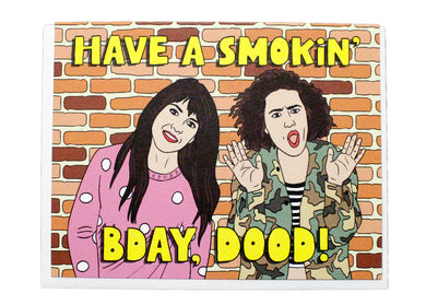 Smokin' Bday Card