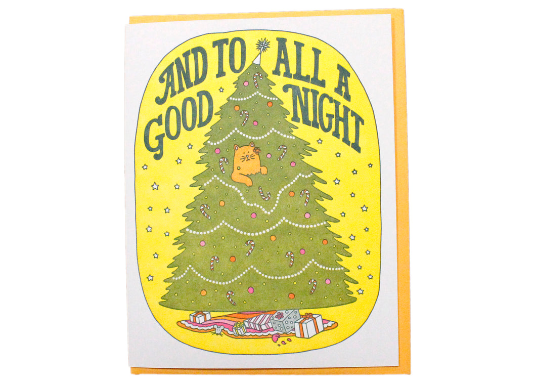 And To All A Good Night Card