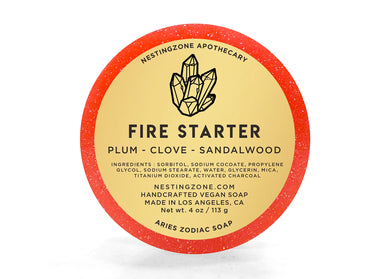 Fire Starter - Aries Zodiac Soap