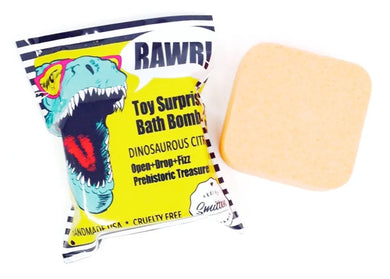 Dinosaurus Citrus Toy Surprise Bath Bomb