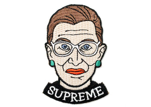 Ruth Bader Ginsberg Supreme Iron-On Patch