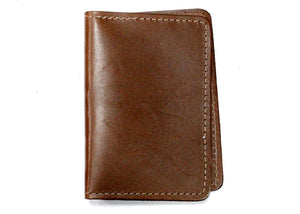 Leather ID Case in Brown