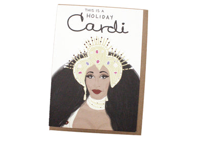 Holiday Cardi Card
