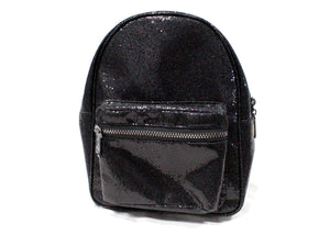 Mini Backpack in Glam Black