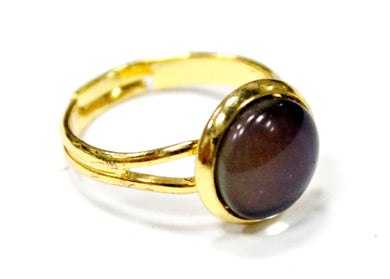 Mood Stone Ring in Gold