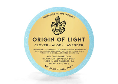 Origin Of Light - Aquarius Zodiac Soap