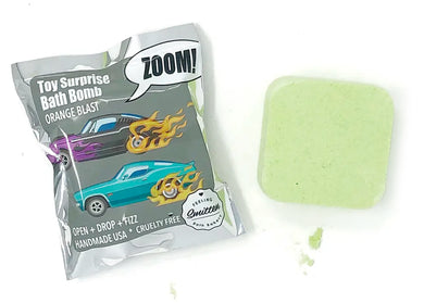Zoom Zoom Toy Surprise Orange Blast Bath Bomb