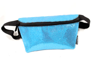 Ultra Slim Fanny Pack In Glam Blue