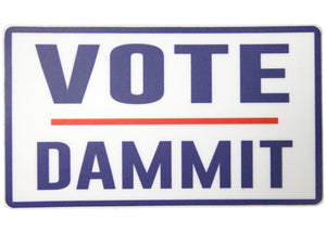 Vote Dammit Sticker