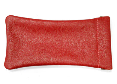 Snap Glasses Pouch in Red