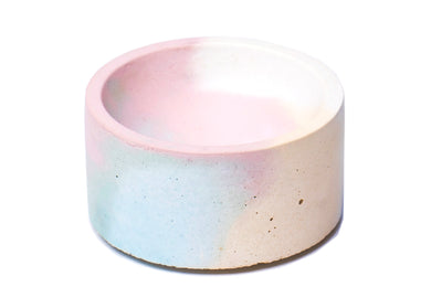 Round Incense Holder in Jawbreaker Marble