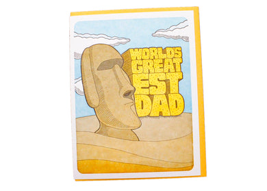World's Greatest Dad Card