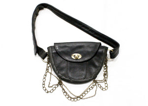 Elysian Belt Bag In Black