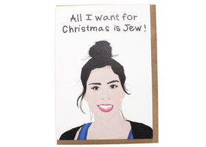 All I Want For Christmas Is Jew Card