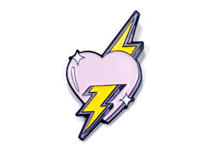 Electric Love Enamel Pin