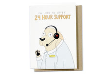 24-Hour Support Card