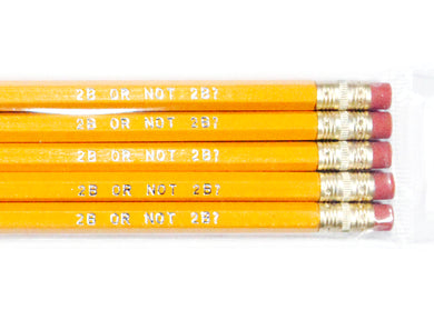 2B Or Not 2B Pencil Set