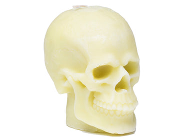 Skull Candle in Yellow