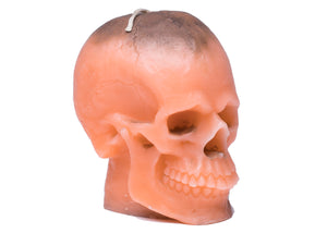 Skull Candle in Orange