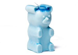 Gummi Bear Candle in Blue